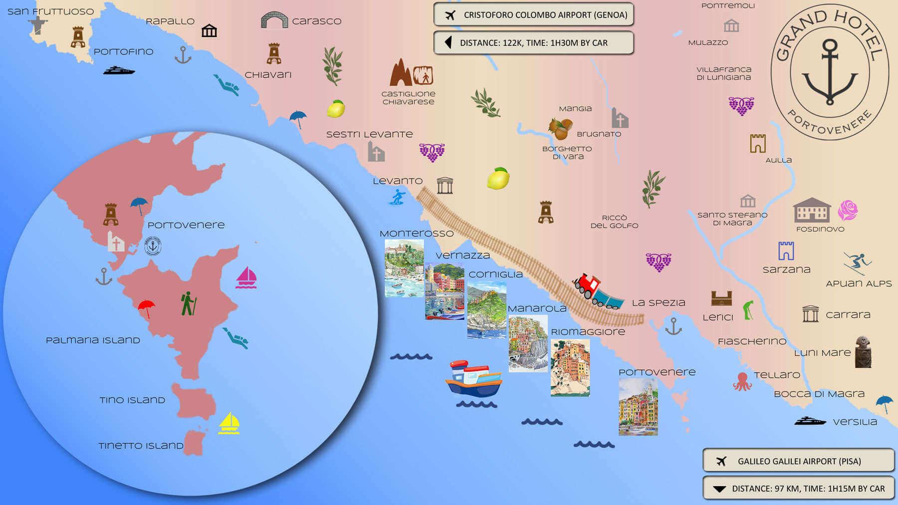 Where is Portovenere ?