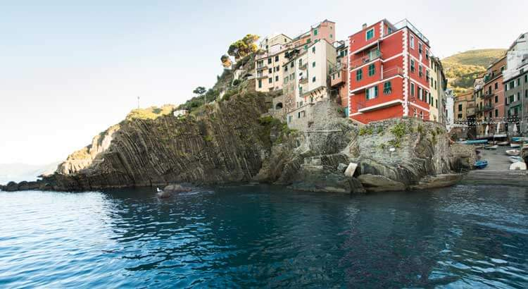 Cinque Terre: easily reachable by boat or train from Portovenere