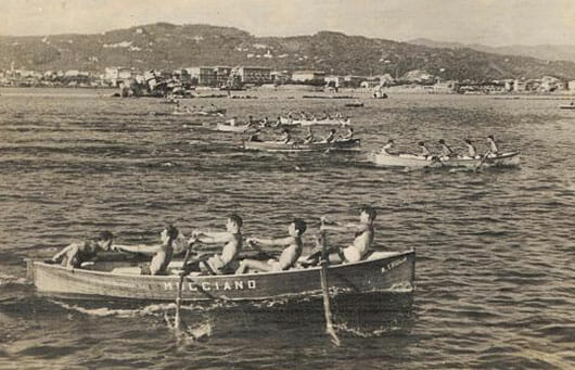 Historic photos of the Palio of the Gulf, La Spezial Liguria