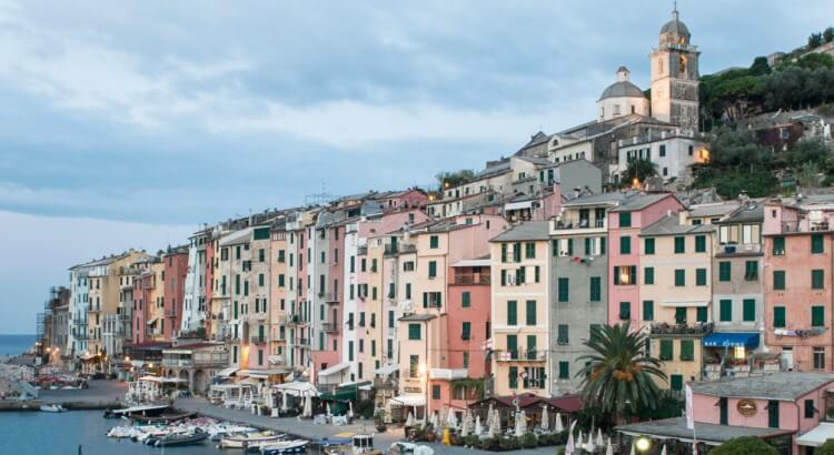 Romantic wedding in Portovenere, Liguria