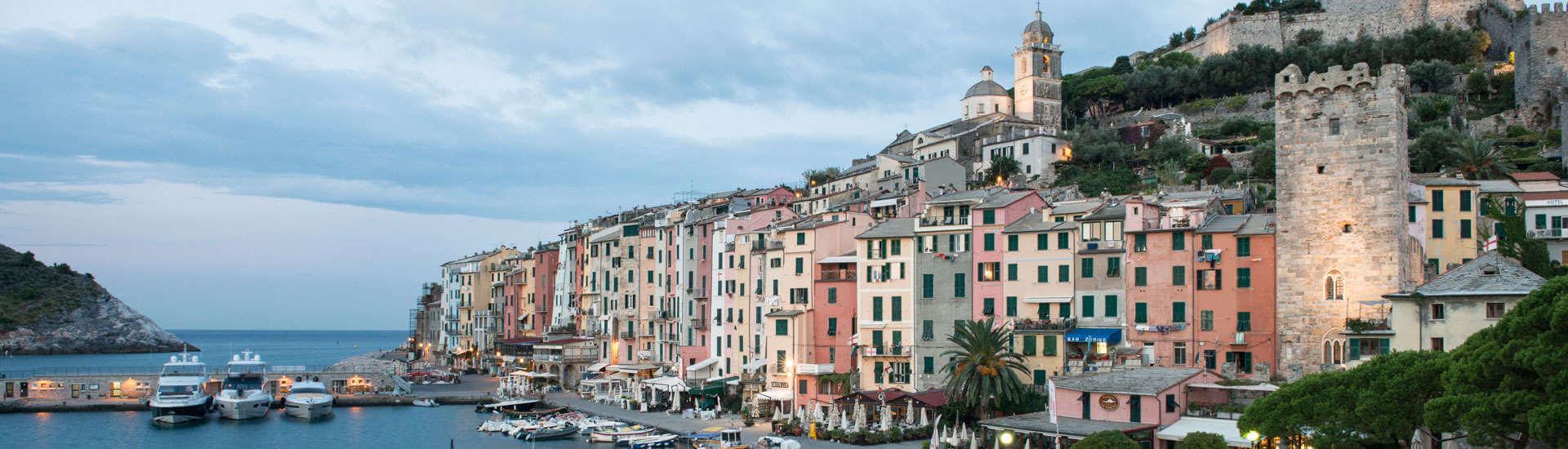 Romantic wedding in Portovenere, Liguria