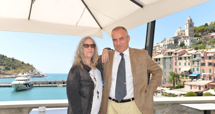 Celebrity vacation spot: Patti Smith at Grand Hotel Portovenere
