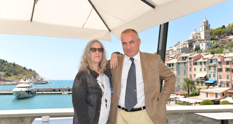 Celebrity vacation spot: Patti Smith at Grand Hotel Portovenere