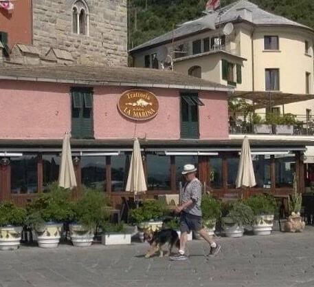 Steven Spielberg in Portovenere Celebrity vacation spot