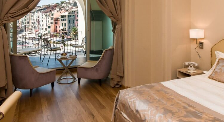 Grand Hotel Portovenere room view