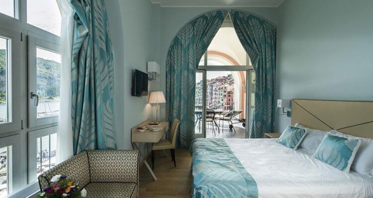 Sea view room in Portovenere, Liguria, Cinque Terre