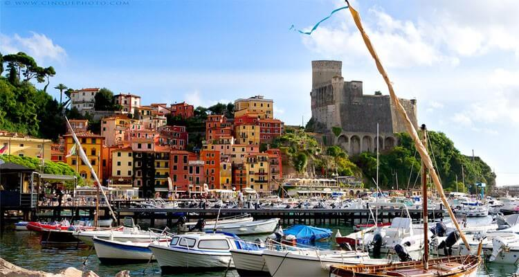 Lerici Castle, Bay of Poets, Liguria