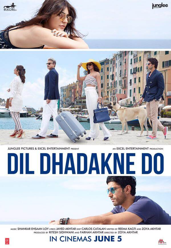 """Dil Dhadkne Do"" Movies in Portovenere"