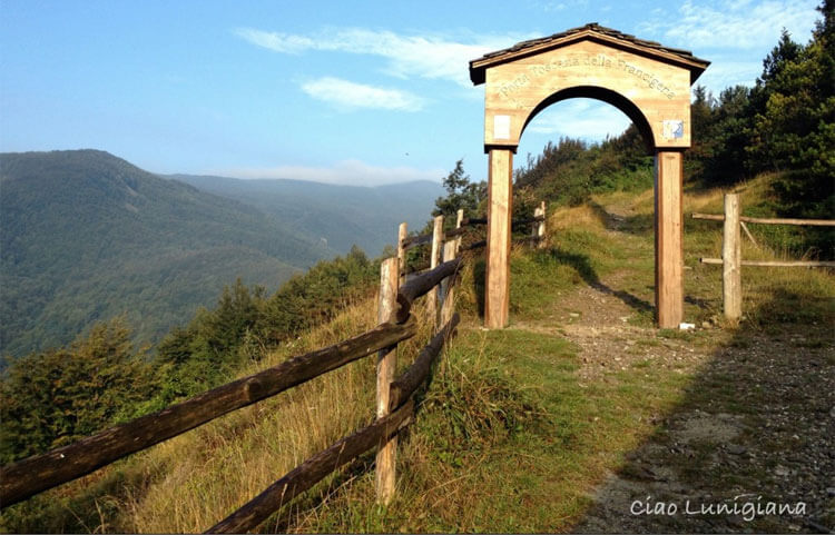 The Via Francigena in eastern Liguria