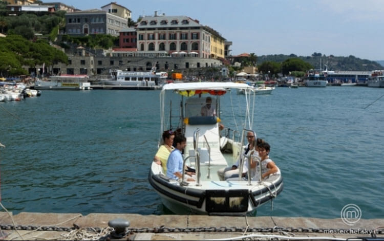 Cooking Spectacle: Celebrity Chefs in Portovenere