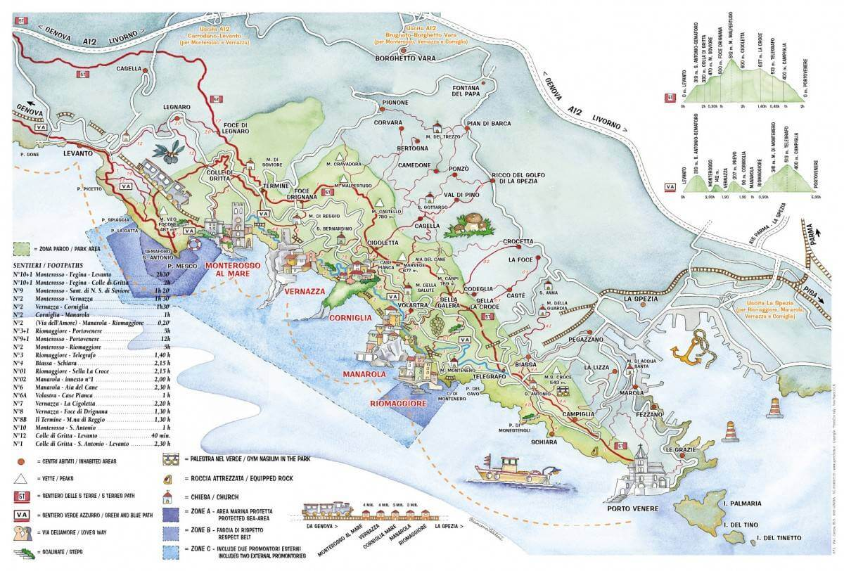 Hiking in the Gulf of Poets: Portovenere and Cinque Terre