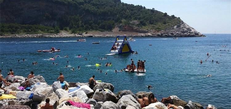 A natural pool in Liguria: Piscina Naturale in Portovenere