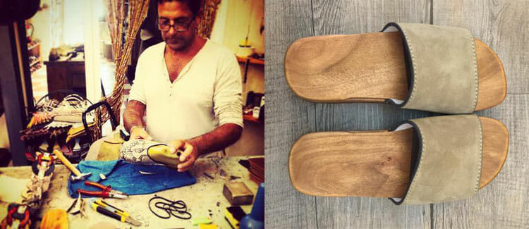 Handmade shoes & clogs in Portovenere - shopping Portovenere