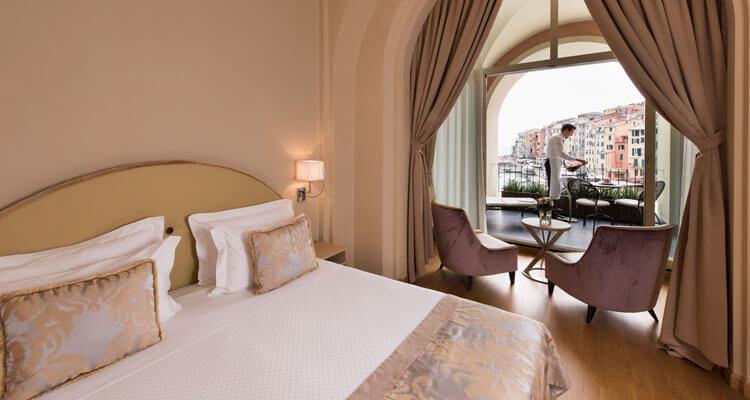 Sea-view Suite in Liguria: Portovenere Grand Hotel