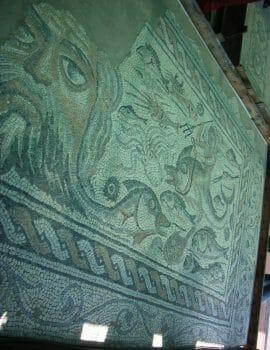 Roman mosaics in Liguria
