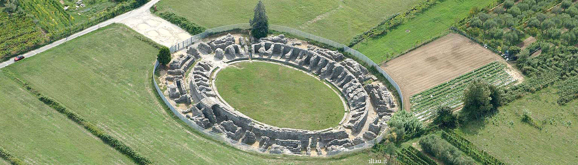 Roman Amphitheater of Luni, Liguria