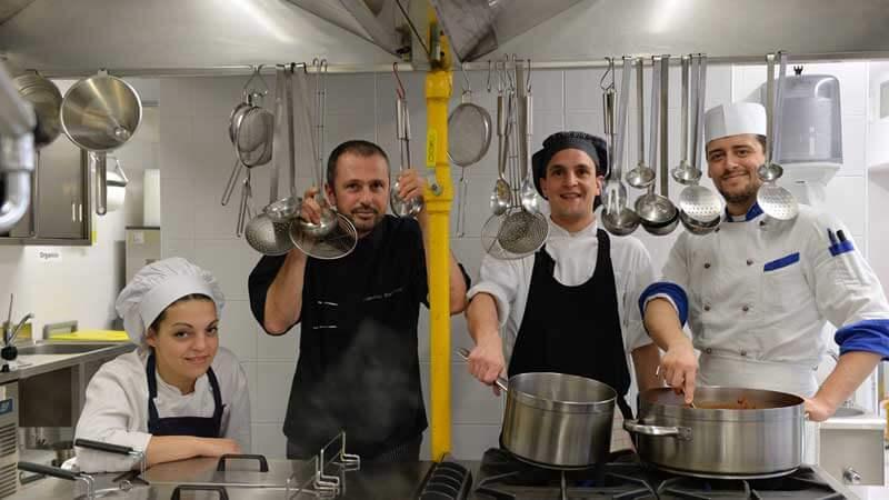 Creative Recipe by Chef Francesco Parravicini, Palmaria Restaurant