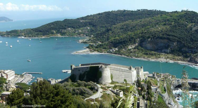 Exploring the Doria Castle in Portovenere, Liguria