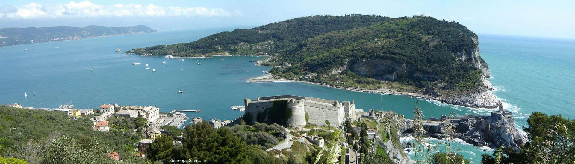 Exploring the Doria Castle in Portovenere, Liguria