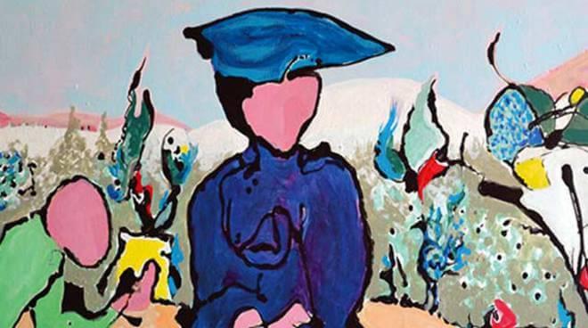 Painting by Hélène de Beauvoir