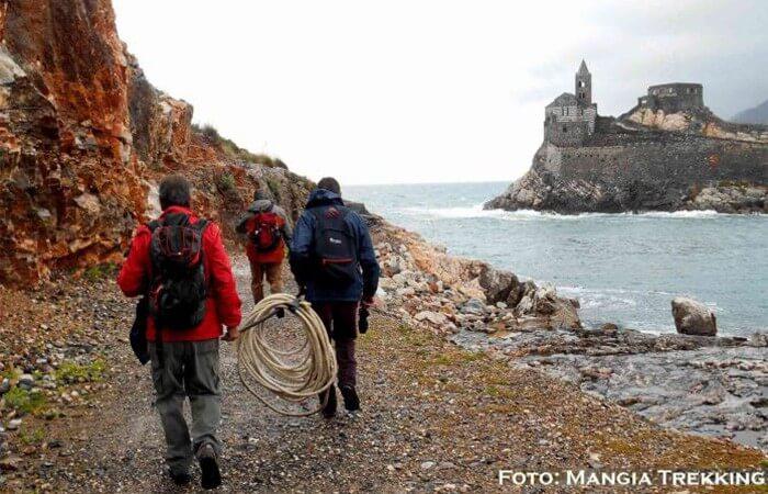 Slow Hiking on Palmaria Island