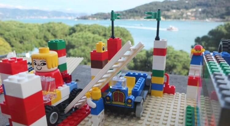 LEGO Corporate Workshop in Portovenere