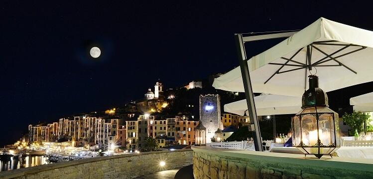 Terrace at Palmaria Restaurant